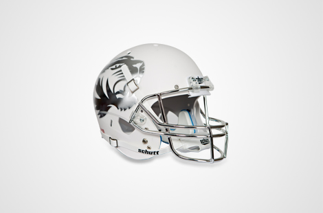 White Mini Helmet
